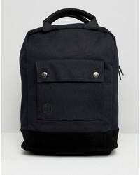 schwarzer Segeltuch Rucksack von Mi-pac
