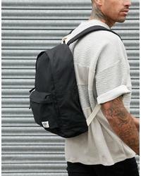 schwarzer Segeltuch Rucksack von New Look