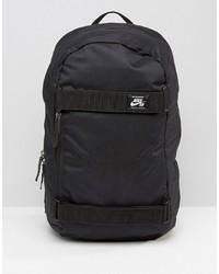 schwarzer Segeltuch Rucksack von Nike SB