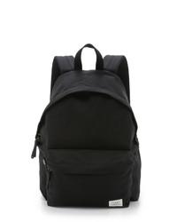 schwarzer Segeltuch Rucksack von Rag & Bone