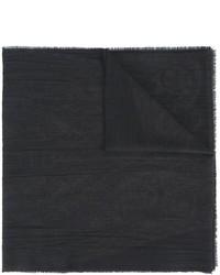 schwarzer Seideschal von Etro