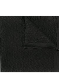 schwarzer Seideschal von Fendi