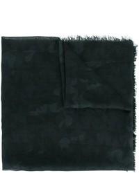schwarzer Seideschal von Valentino Garavani