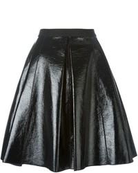schwarzer Skaterrock aus Leder von Marc Jacobs