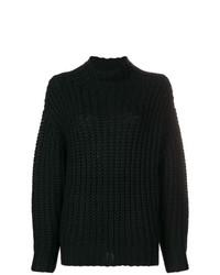 schwarzer Strick Oversize Pullover von IRO