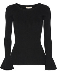 schwarzer Strick Pullover von MICHAEL Michael Kors