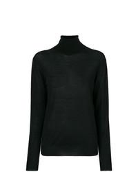 schwarzer Strick Rollkragenpullover von Stella McCartney