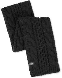 schwarzer Strick Schal