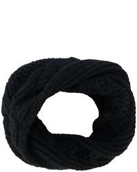 schwarzer Strick Schal von Balmain