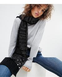 schwarzer Strick Schal von Boardmans