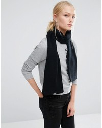 schwarzer Strick Schal von Cheap Monday