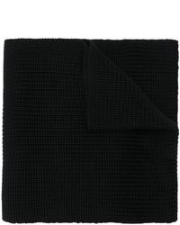 schwarzer Strick Schal von Dolce & Gabbana