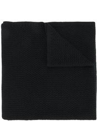 schwarzer Strick Schal von Givenchy
