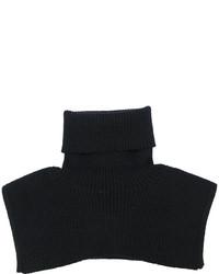 schwarzer Strick Schal von MM6 MAISON MARGIELA
