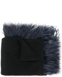 schwarzer Strick Schal von No.21