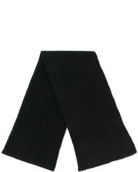 schwarzer Strick Schal von Roberto Collina