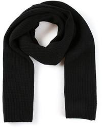 schwarzer Strick Schal von Vince