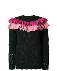 schwarzer Strickpullover von Boutique Moschino