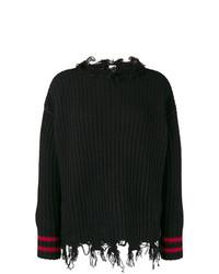 schwarzer Strickpullover von Pinko