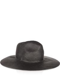 schwarzer Strohhut von Madewell