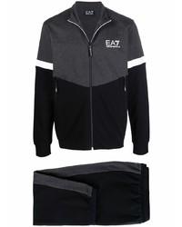 schwarzer Trainingsanzug von Ea7 Emporio Armani