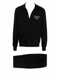 schwarzer Trainingsanzug von Emporio Armani