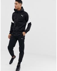 schwarzer Trainingsanzug von Puma