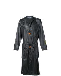 schwarzer Trenchcoat von A-Cold-Wall*