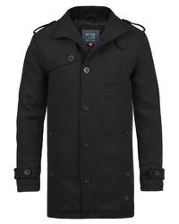 schwarzer Trenchcoat von BLEND