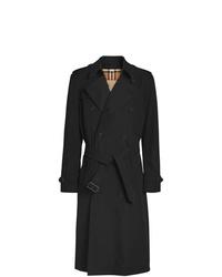 schwarzer Trenchcoat von Burberry