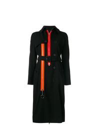 schwarzer Trenchcoat von Givenchy