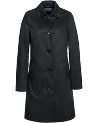 schwarzer Trenchcoat von Highmoor