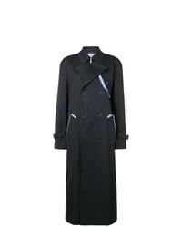 schwarzer Trenchcoat von Maison Margiela