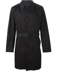 schwarzer Trenchcoat von Paul Smith