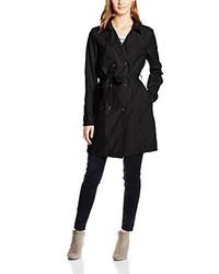 schwarzer Trenchcoat von VILA CLOTHES