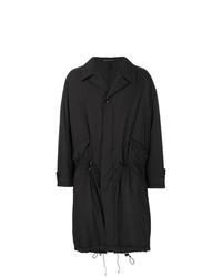 schwarzer Trenchcoat von Yohji Yamamoto