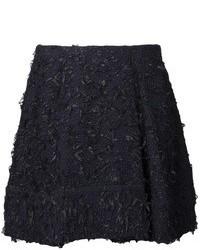 schwarzer Tweed Minirock von 3.1 Phillip Lim