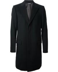 schwarzer Überzug von Dolce & Gabbana