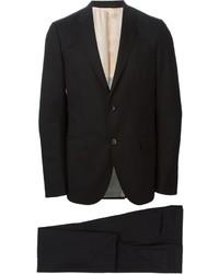 schwarzer Wollanzug von Gucci