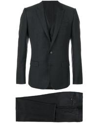 schwarzer Wolldreiteiler von Dolce & Gabbana