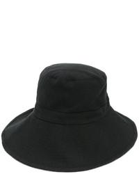 schwarzer Wollhut von Ann Demeulemeester