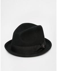 schwarzer Wollhut von Brixton