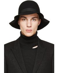 schwarzer Wollhut von CNC Costume National