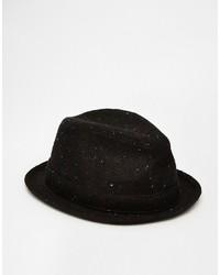 schwarzer Wollhut von Goorin Bros.