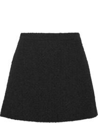 schwarzer Wollminirock von Gucci