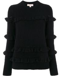 schwarzer Wollpullover von MICHAEL Michael Kors