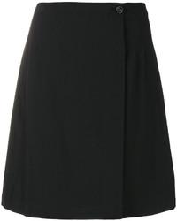 schwarzer Wollrock von A.P.C.