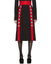 schwarzer Wollrock von Dolce & Gabbana