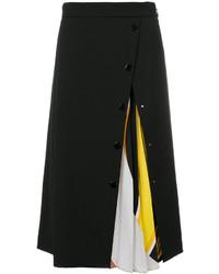 schwarzer Wollrock von Emilio Pucci
