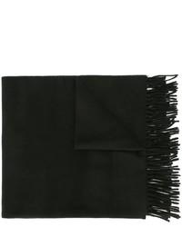 schwarzer Wollschal von AMI Alexandre Mattiussi